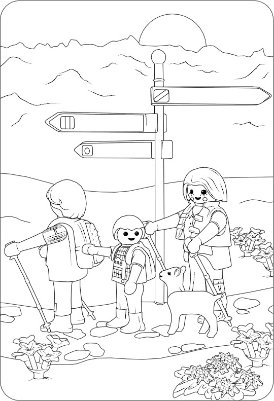 Playmobil Knights Coloring Pages