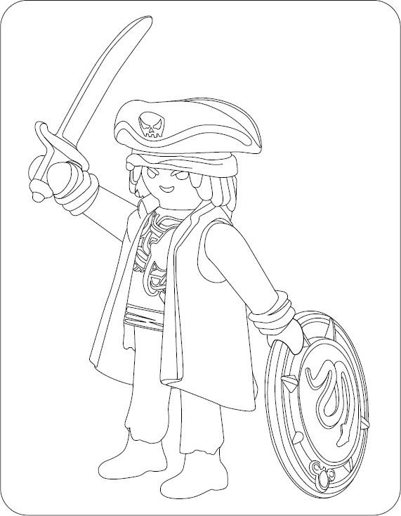 Malvorlage Piraten Playmobil Malvorlagencr