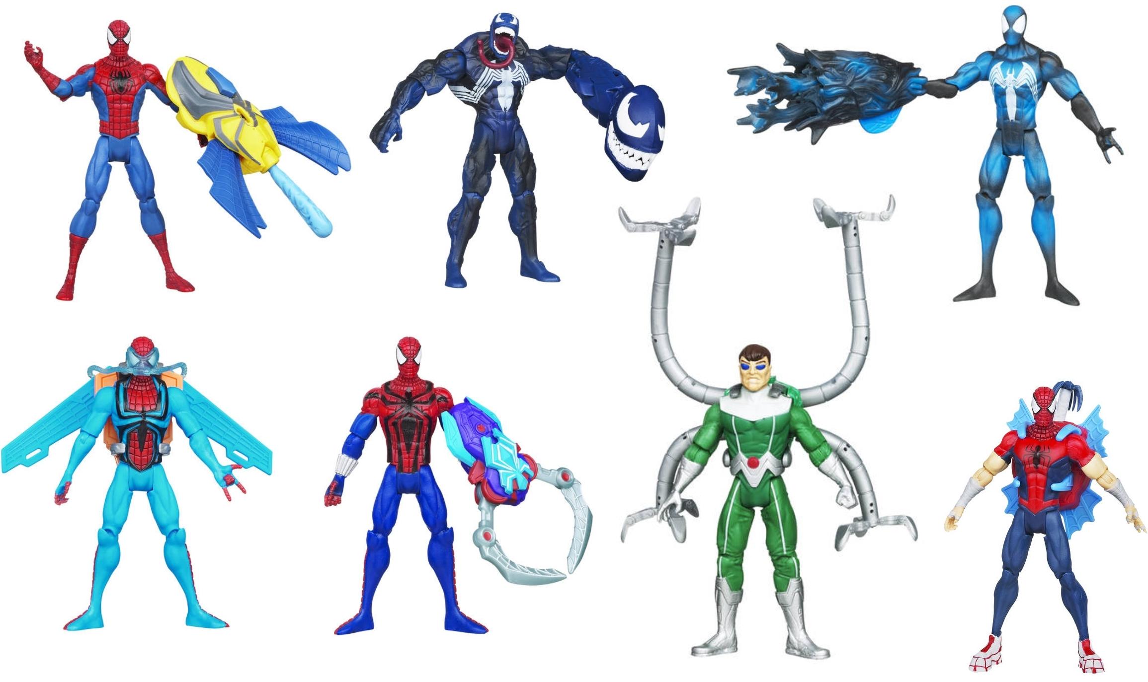 alle spiderman spiele