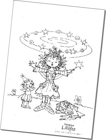 Zauberhafte Ausmalbilder Von Prinzessin Lillifee