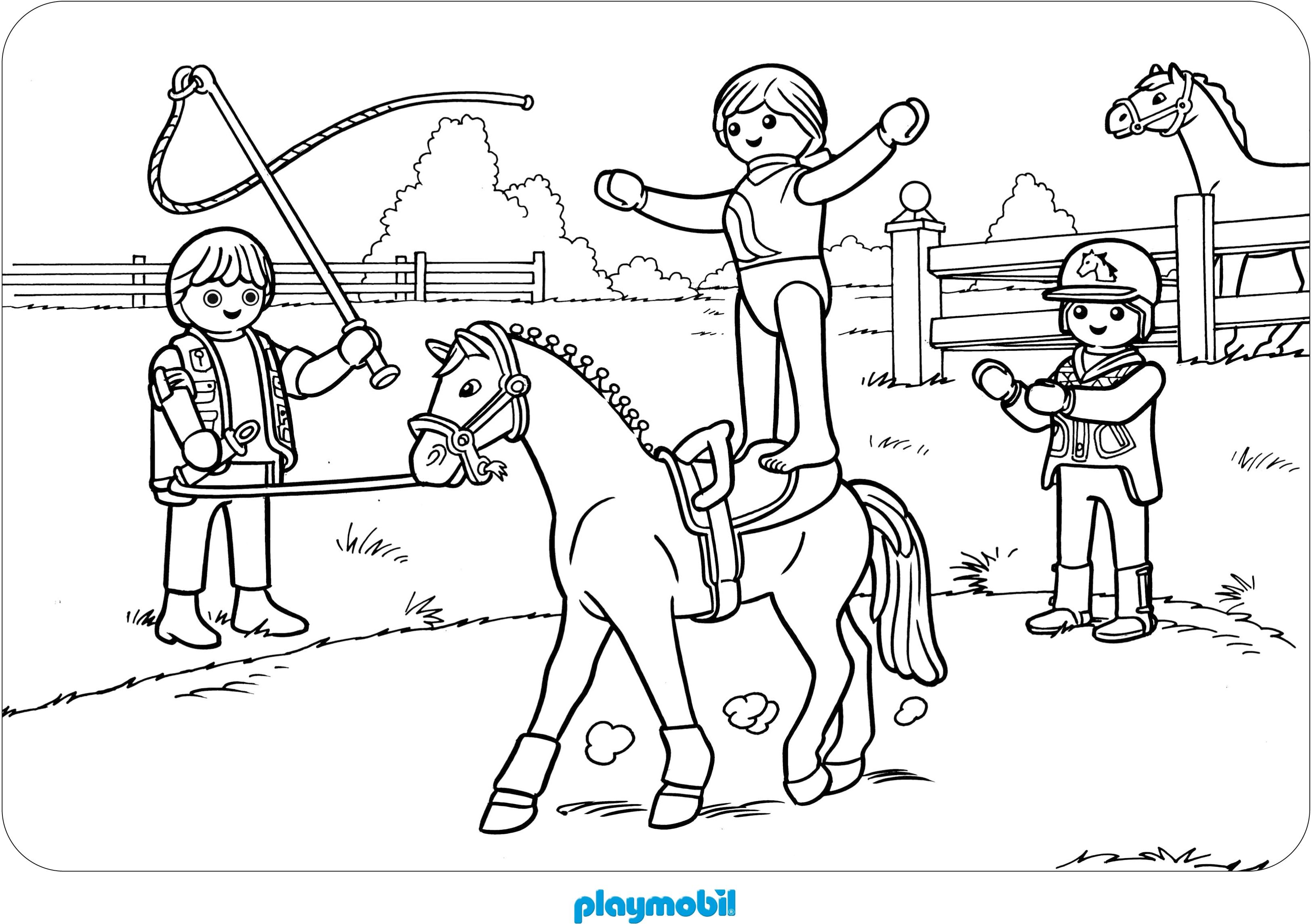 Malvorlagen Zeichnen Ausmalbilder Playmobil