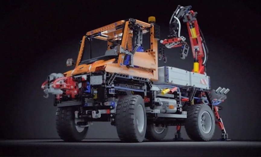 lego technic 8110 der legendäre mercedesbenz unimog u400