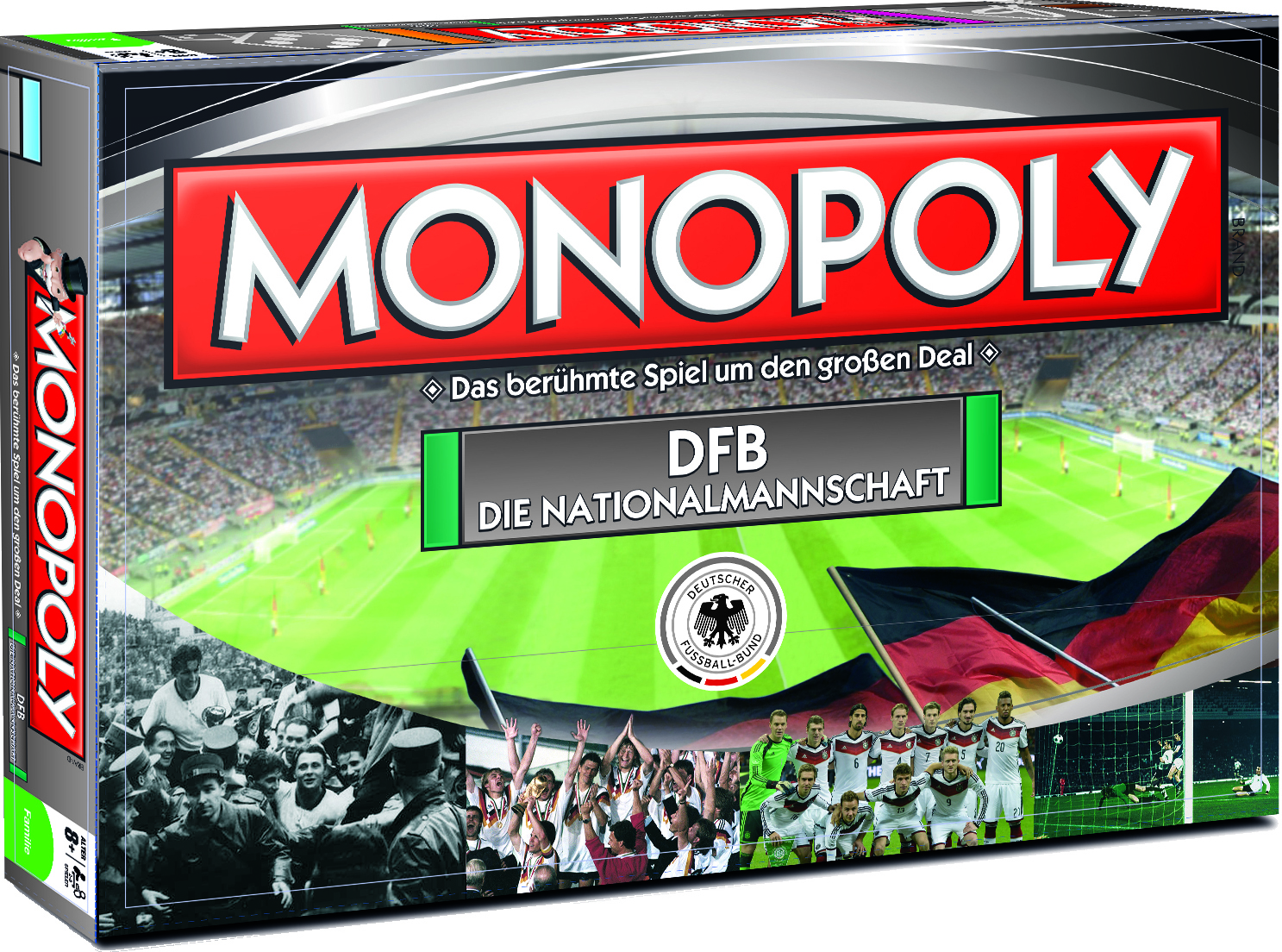 monopoly dfb die nationalmannschaft in der monopoly welt. Black Bedroom Furniture Sets. Home Design Ideas