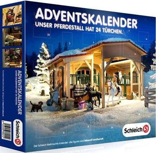 Pferde Weihnachtskalender.Schleich Adventskalender 2014 Tierische Weihnachten Im Schleich Land