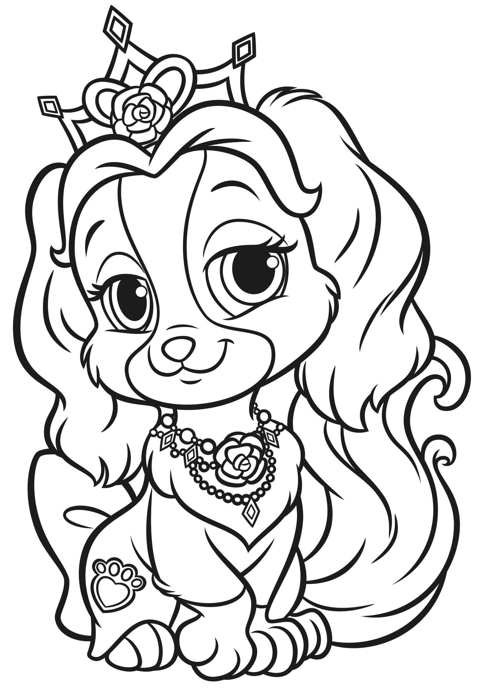 disney pets coloring pages - photo#21