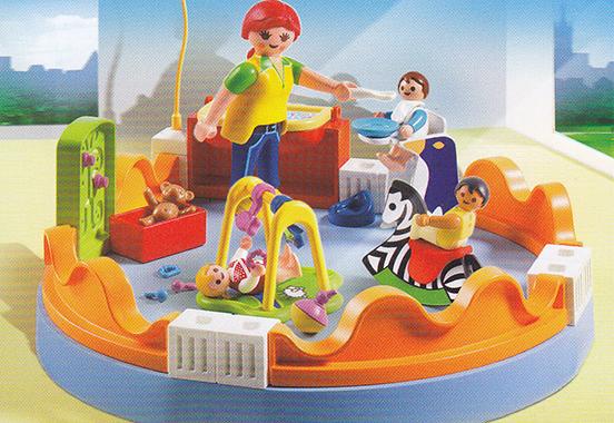 playmobil® kindergarten  spielspaß mit den kleinsten für