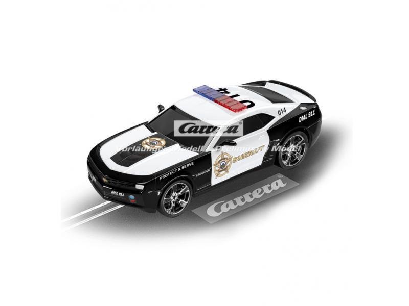 chevrolet camaro sheriff go fahrzeug carrera 20064031. Black Bedroom Furniture Sets. Home Design Ideas