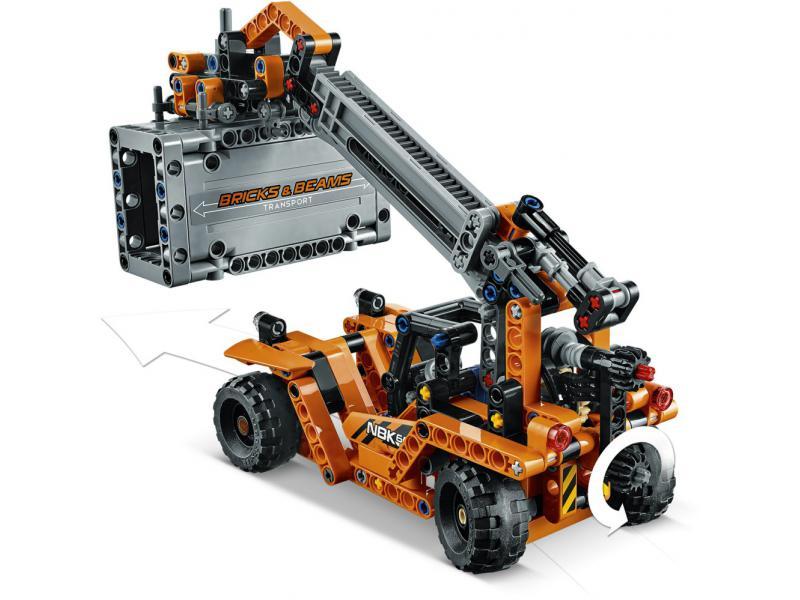 container transport lego technic lego 42062. Black Bedroom Furniture Sets. Home Design Ideas