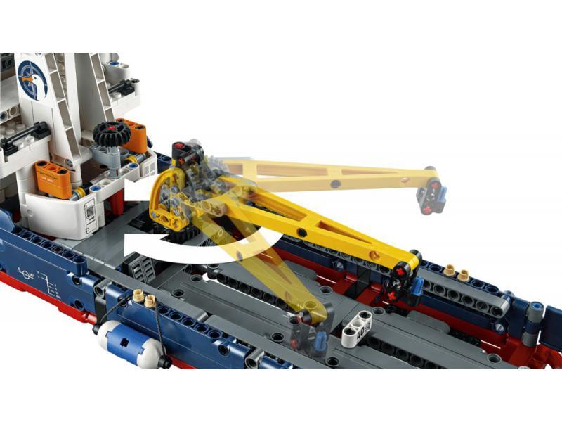 forschungsschiff lego technic lego 42064. Black Bedroom Furniture Sets. Home Design Ideas