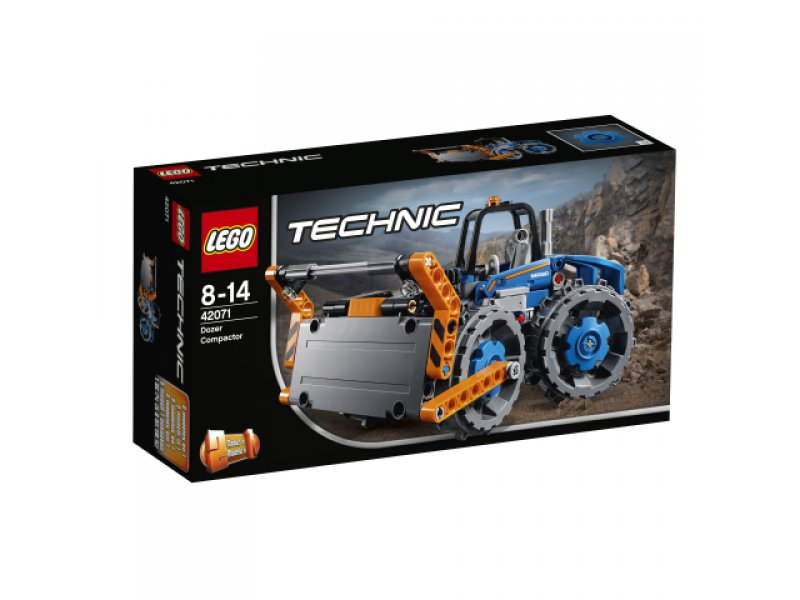 planierraupe lego technic lego 42071. Black Bedroom Furniture Sets. Home Design Ideas