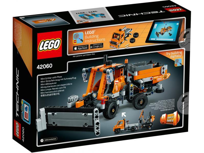 stra enbau fahrzeuge lego technic lego 42060. Black Bedroom Furniture Sets. Home Design Ideas