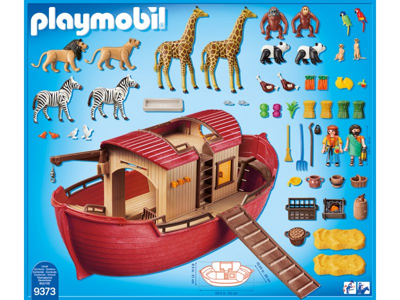Arche noah playmobil 9373 for Arca de noe playmobil