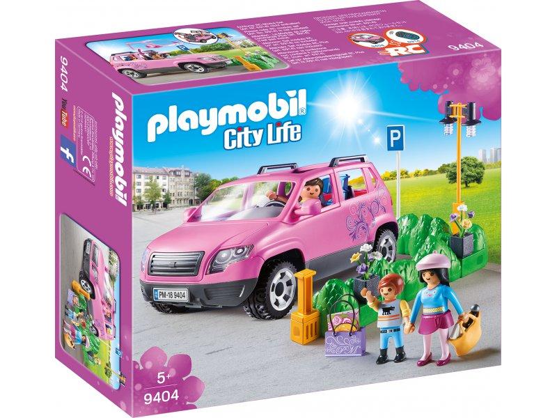 familien pkw mit parkbucht city life playmobil 9404. Black Bedroom Furniture Sets. Home Design Ideas