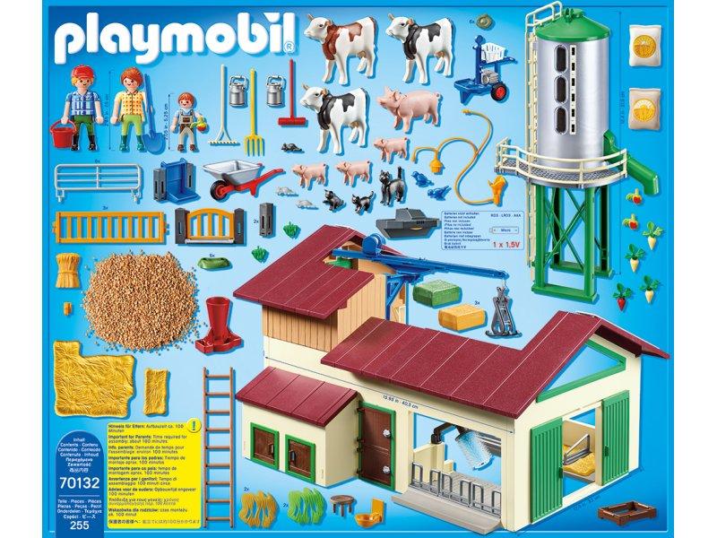 Großer Bauernhof mit Silo Country PLAYMOBIL® 70132