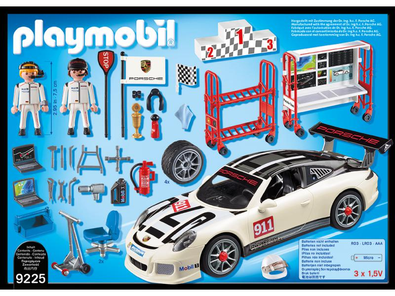 Porsche 911 GT3 Cup PLAYMOBIL® 9225 Lego