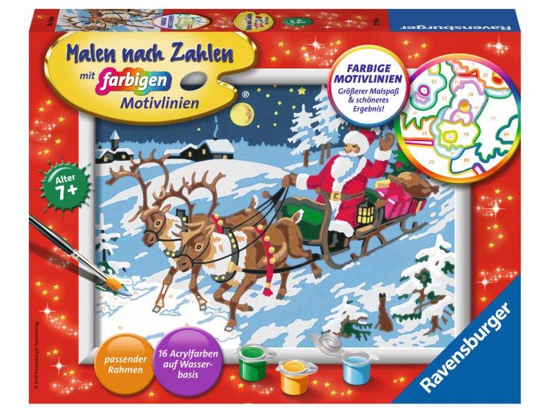 Frohe Weihnachten! Malen nach Zahlen Ravensburger 277766