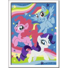 Malen Nach Zahlen My little Pony