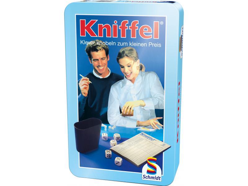 kniffel kompakt ab 8 jahre schmidt spiele 51203. Black Bedroom Furniture Sets. Home Design Ideas